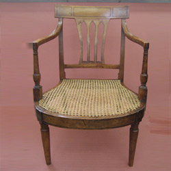 Satinwood antique chair