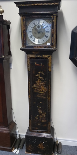 Lacquered or Japanned clock case conservation