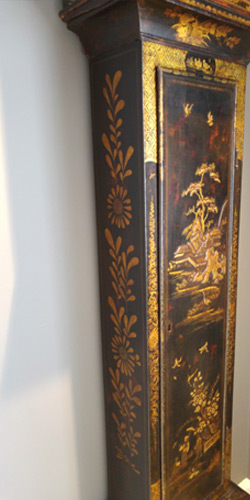 Lacquered or Japanned finish conservation