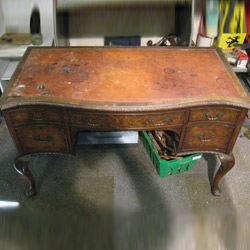 desk leather